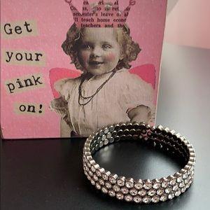 Crystal cuff bracelet 💎
